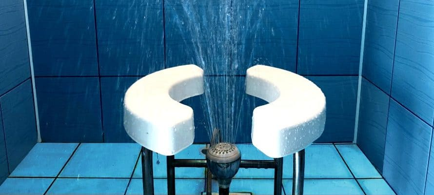 Восходящий душ в домашних условиях