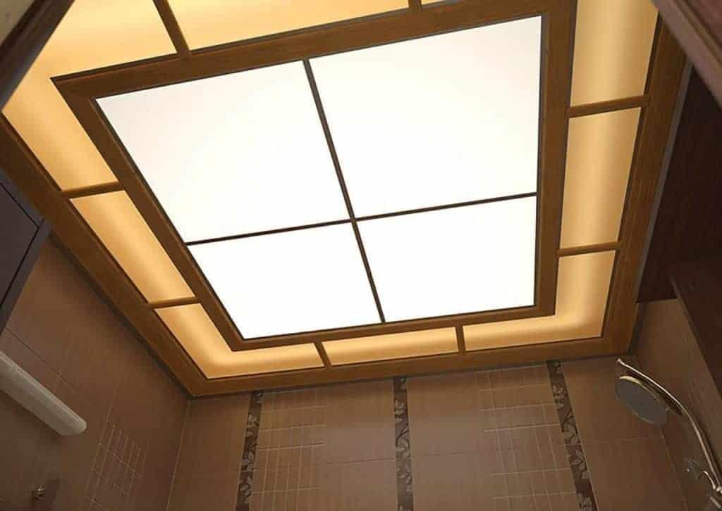 Потолок акриловый