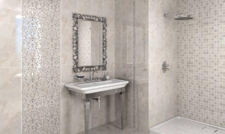 Плитка Керама Марацци в интерьере ванной комнаты фото