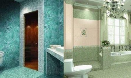 Жидкие обои для ванной комнаты
