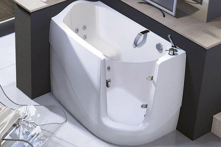 Разновидности сидячих ванн