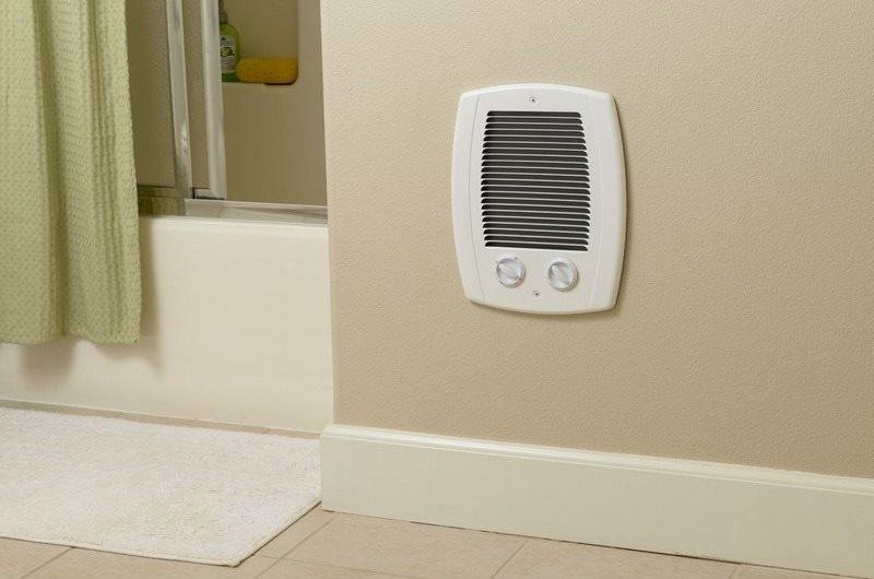 Виды обогревателей для ванной комнаты