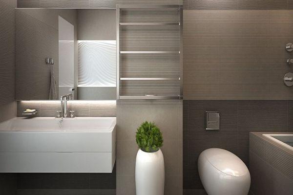 Дизайн ванной в стиле минимализм-2