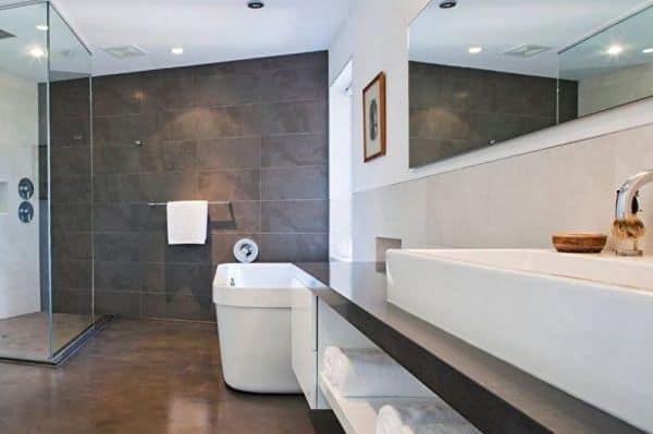 Модные тенденции дизайна ванной  комнаты