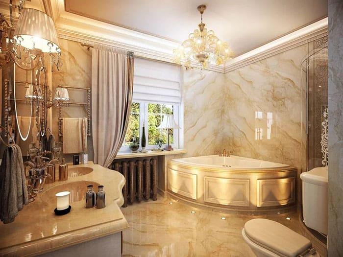 Стили в ванной