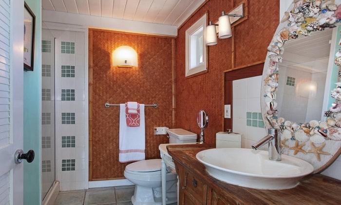 Чем отделать ванную комнату вместо плитки