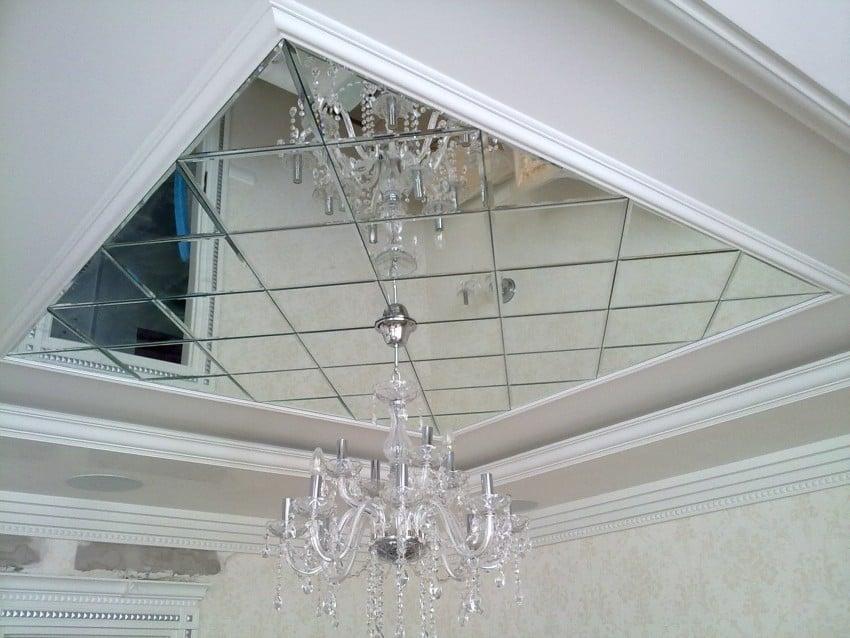 плюсы и минусы зеркальных потолков в ванной комнате