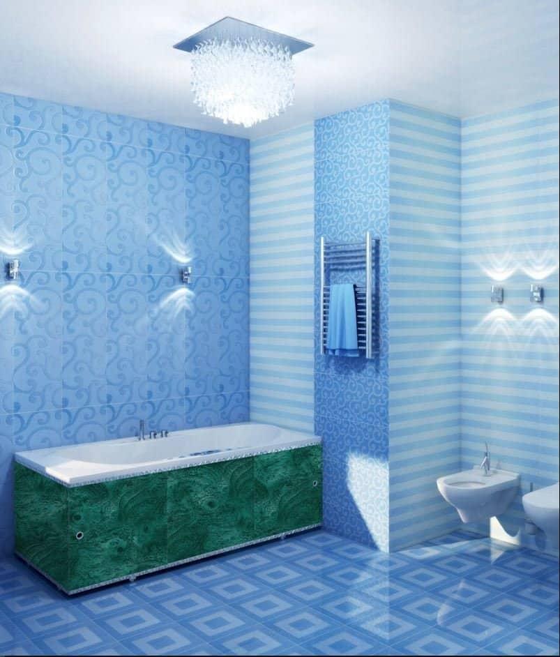 Сайдинг ванной комнаты