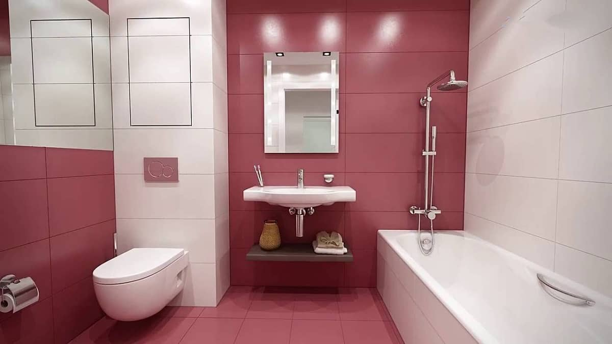 Примеры инсталляции в ванной комнате-3