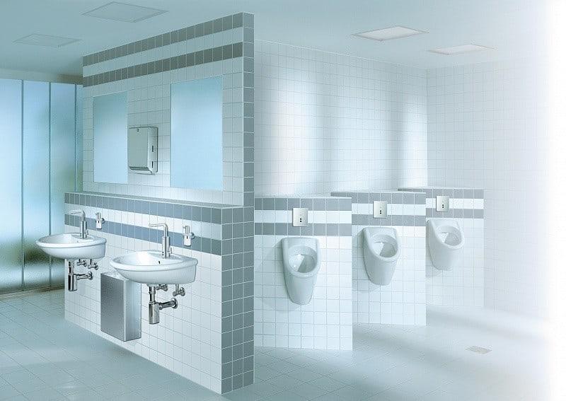 Примеры инсталляции в ванной комнате-7
