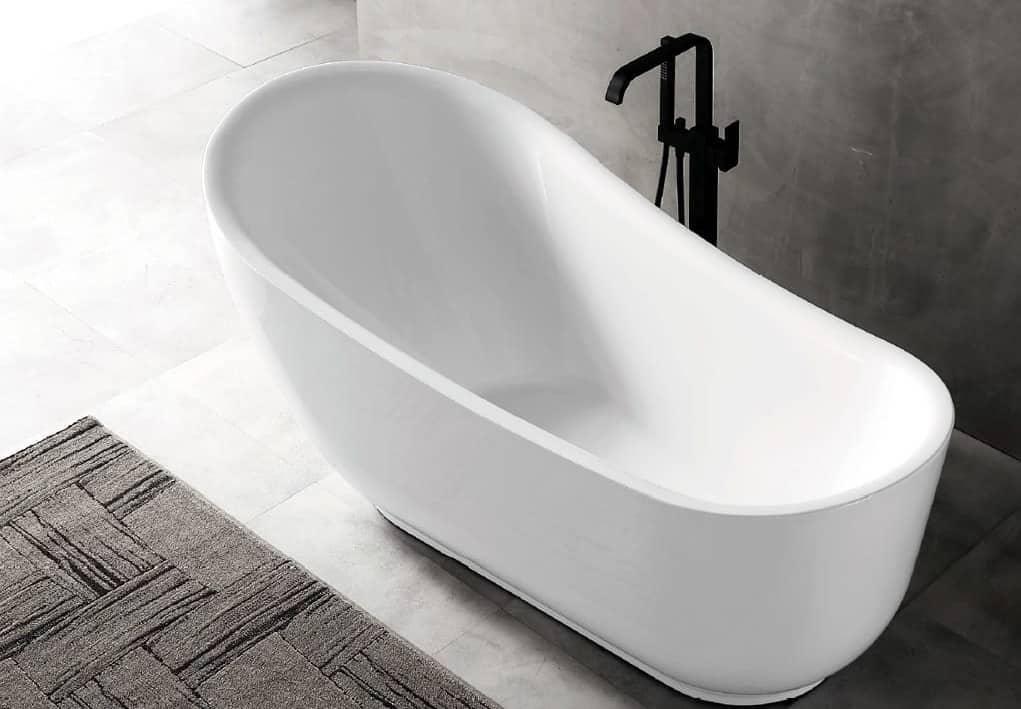 Овальные ванны