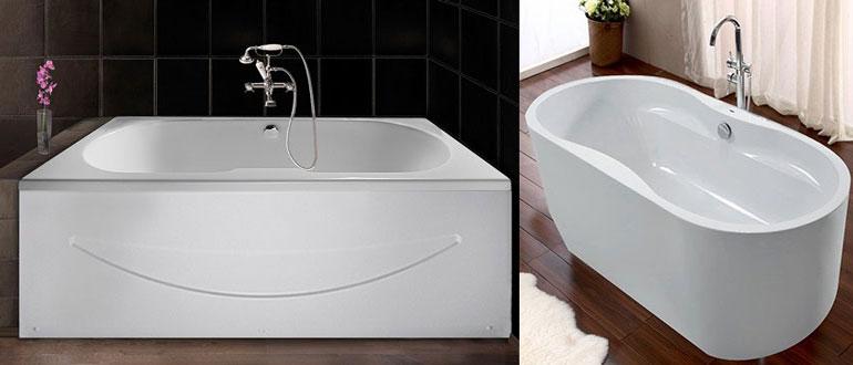 Технология изготовления и свойства акриловых ванн