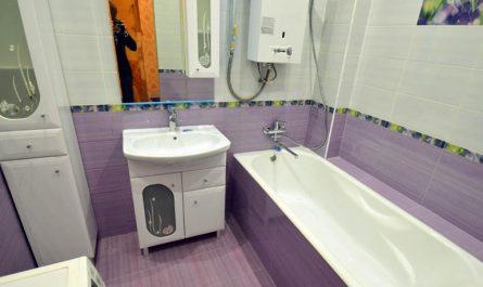 Газовая колонка в ванной комнате