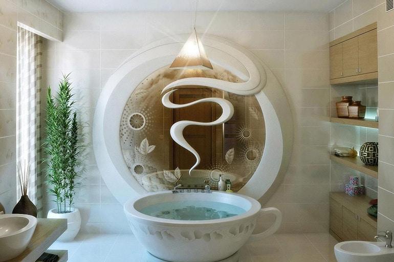 Наиболее интересные и вдохновляющие дизайны ванных комнат