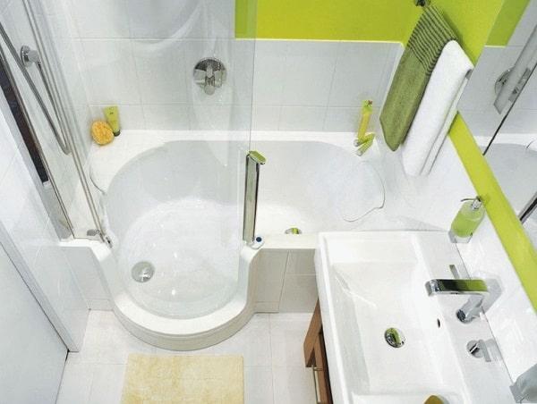 Стандартные размеры ванной комнаты в хрущевке