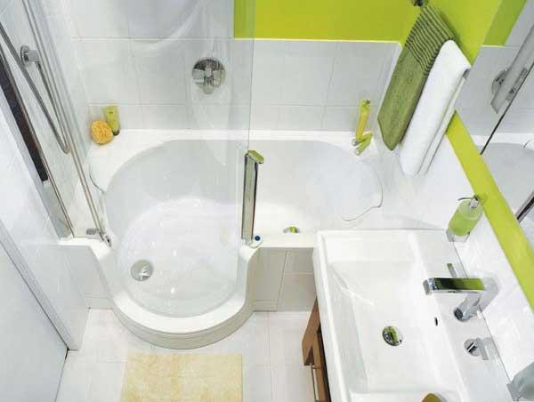 Варианты дизайна ванной 150х150