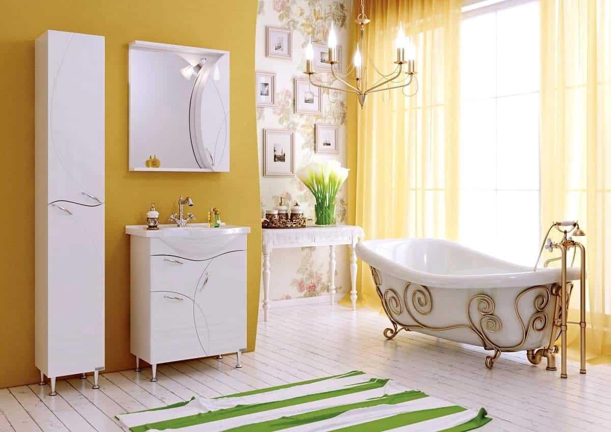 Мебель для ванной пластик