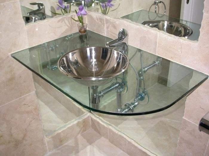 Мебель для ванной стекло