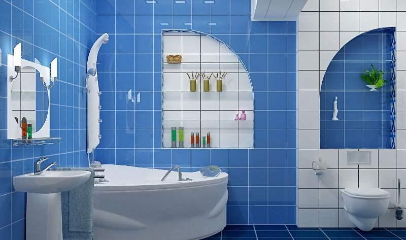 Ремонт ванной комнаты плитка