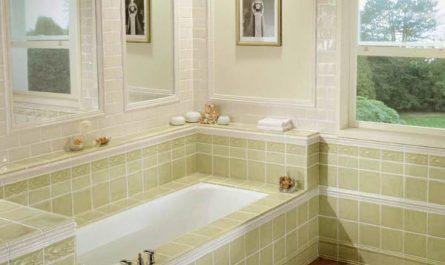 как обложить ванну плиткой
