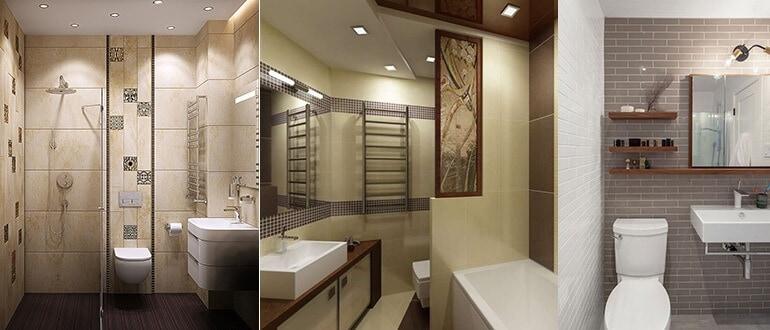 Дизайн плитки для ванной и туалета