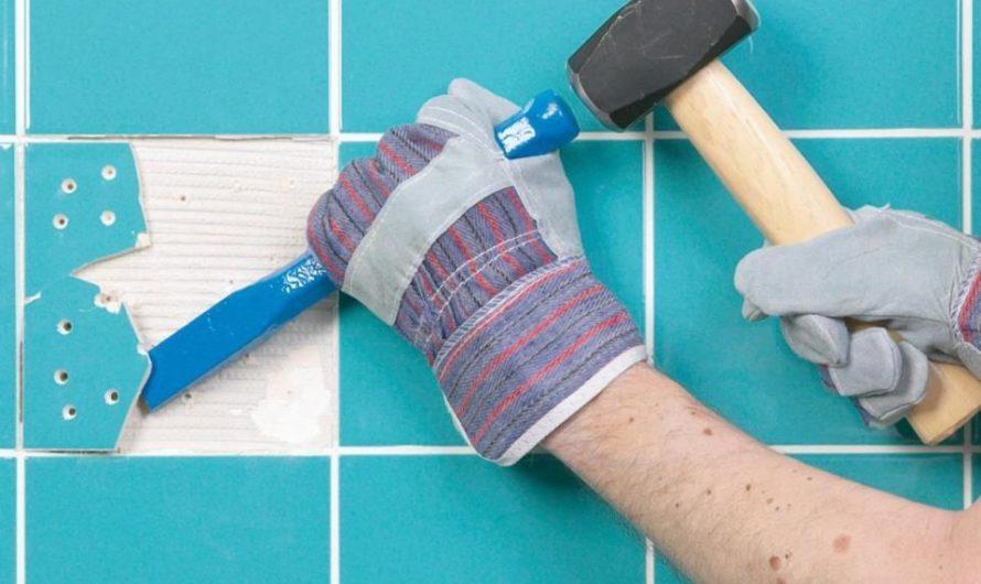 Как в ванной комнате заменить старые керамические плитки новыми