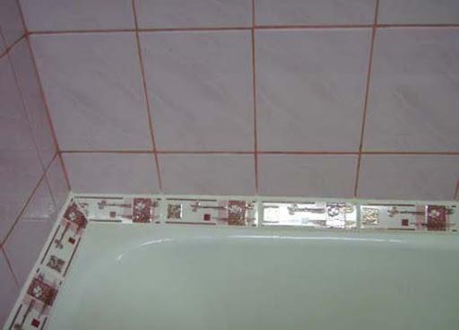 Плинтус для ванной, какие бывают виды и правила выбора