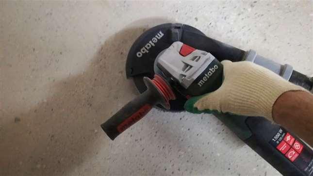 Полировка бетонного основания
