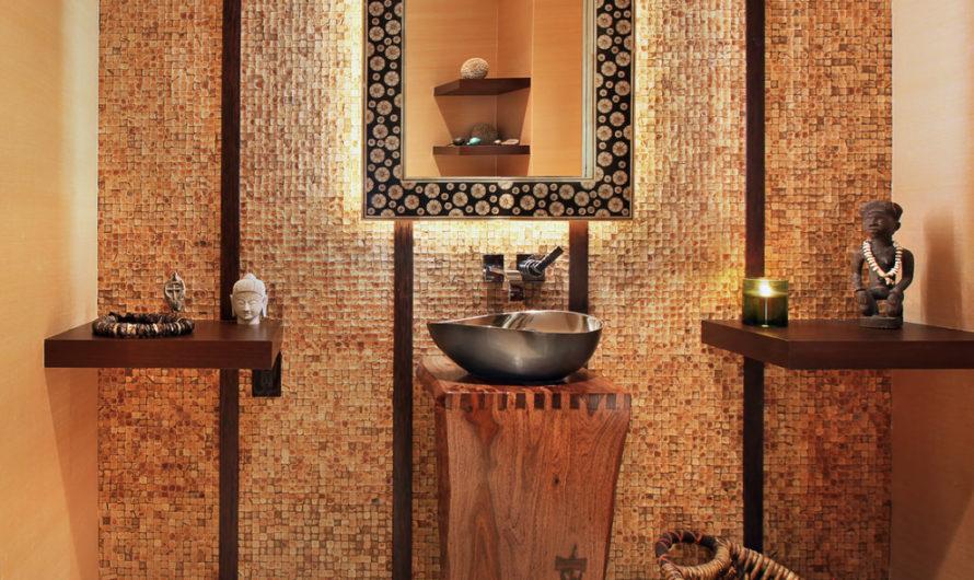 Ванная в африканском стиле