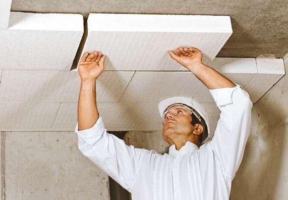 Утепление потолка и его обшивку