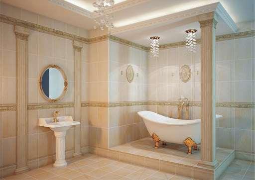 Ванна в античном стиле