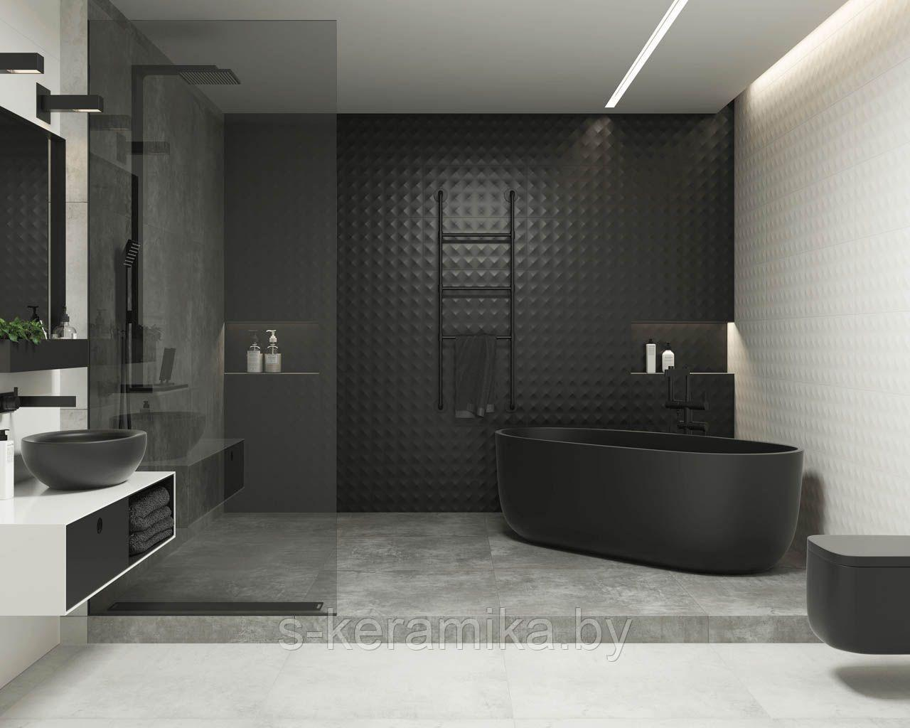 Ванна черного оттенка