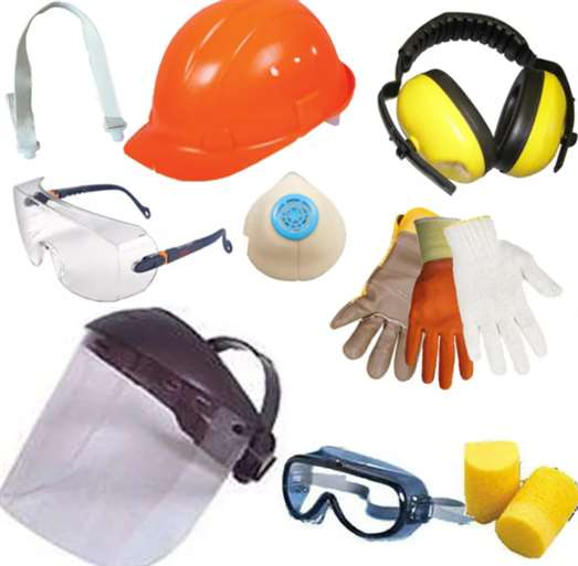 Средства защиты (для глаз, рук, лица)